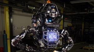 Navy Robot
